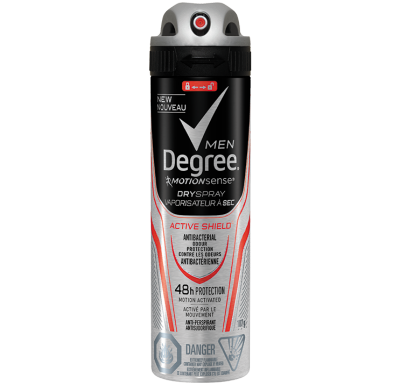 Degree Men® Active Shield™ Dry Spray 107g