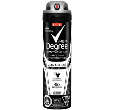 Degree Men® UltraClear Black + WhiteMC 107g